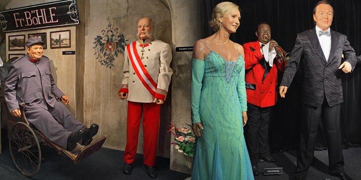 Potkejte hvězdy: vstup do Muzea voskových figurín pro rodiny i jednotlivce