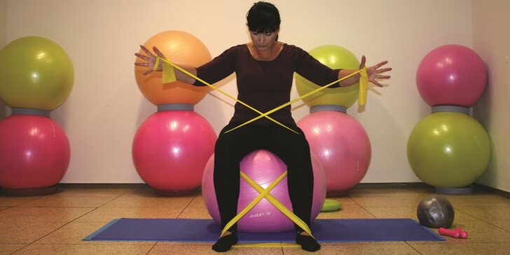 Cvičení pro zdraví: 1-5 lekcí ve studiu Jiřina na Novém Městě