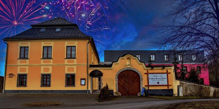 Oslavte silvestr na Vysočině: 4 dny s wellness, plnou penzí i ohňostrojem