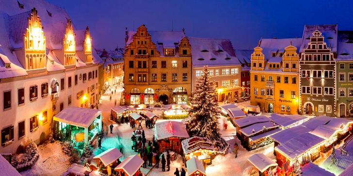 Advent v historickém městečku Míšeň a v metropoli Saska v Drážďanech