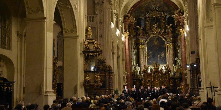 Vstupenka na koncert díla Mozarta Requiem v kostele Nejsvětějšího Salvátora