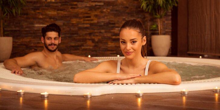 60 minut relaxace v privátním wellness pro 2 osoby: vířivka i infrasauna