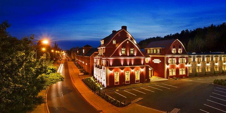 Užívejte si ve 4* hotelu ve Varech: skvělé jídlo, wellness i vlastní kinosál