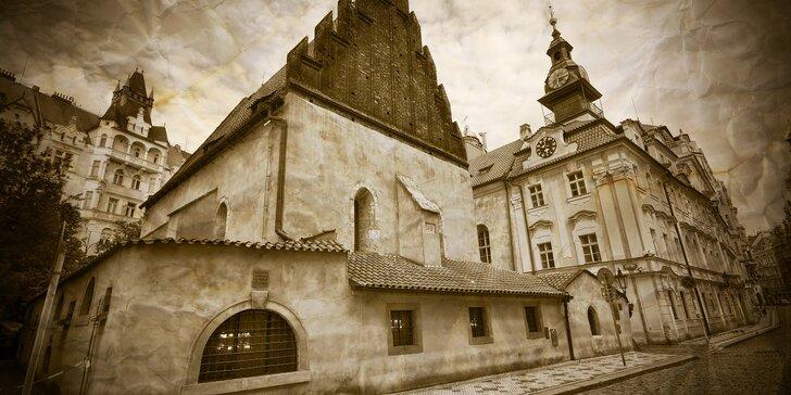 Ztracené židovské město: outdoorová únikovka v centru Prahy pro až 5 hráčů