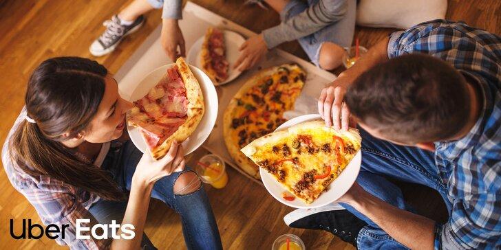Doručení jídla přes Uber Eats: víc než 150 restaurací včetně McDonald´s a UGO