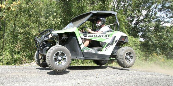 15 či 30 minut za volantem buggy: akční jízda se zkušeným instruktorem