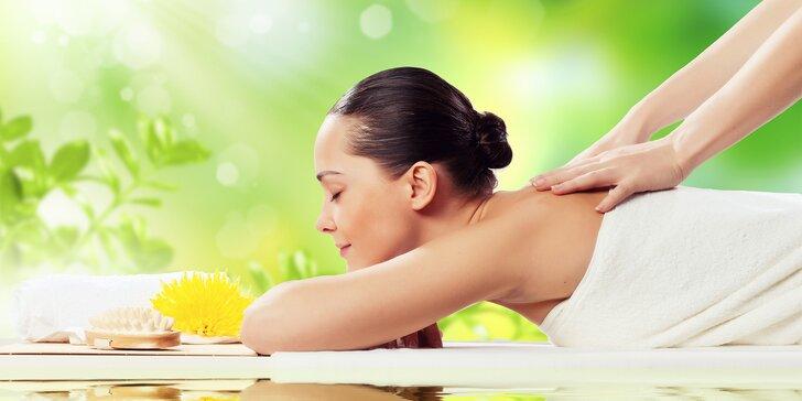 Otevřený voucher na služby masážního studia dle výběru