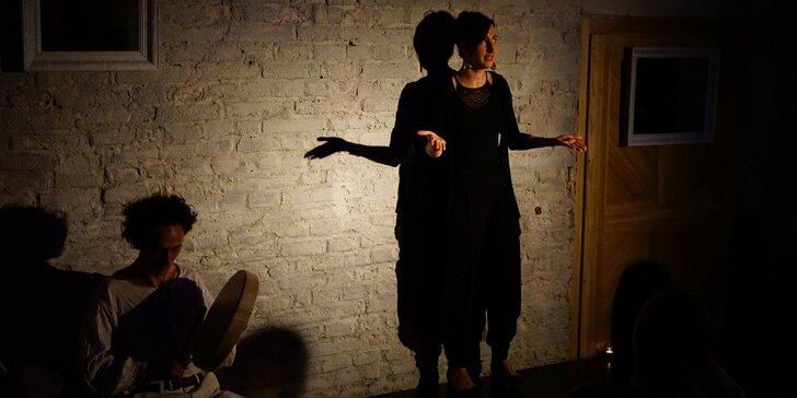 One woman show Impro Woo - Zorničková v Mohaji Café