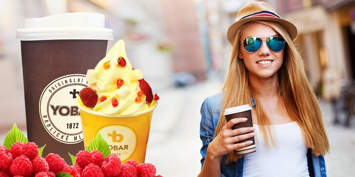 Dárkové vouchery na cokoli z Yobaru: frozen yogurty, káva, koktejly i dezerty
