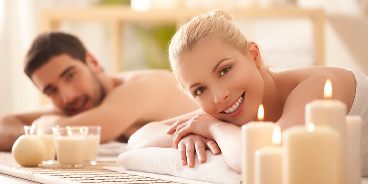 Párová relaxační masáž: nechte hýčkat své nohy, záda i šíji