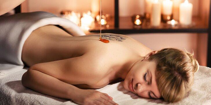 Relax a sladké uvolnění: 40minutová medová detoxikační masáž