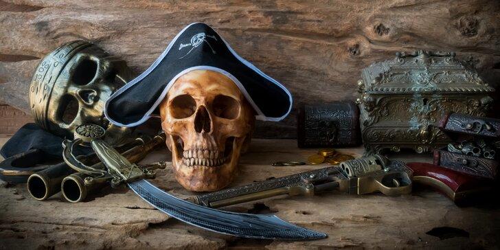 Úniková hra Piráti: hodina napětí pro 3 až 6 hráčů ve Frenštátě