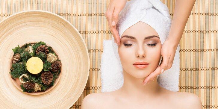 Kosmetické ošetření včetně hloubkového čištění pleti a masáže obličeje