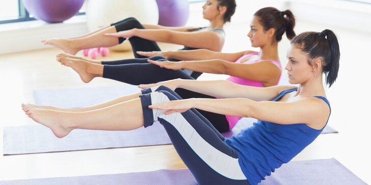 Pilates pro začátečníky i mírně pokročilé: Až 10 lekcí včetně ochutnávky čaje