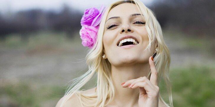 Dopolední kosmetické ošetření pleti s masáží obličeje