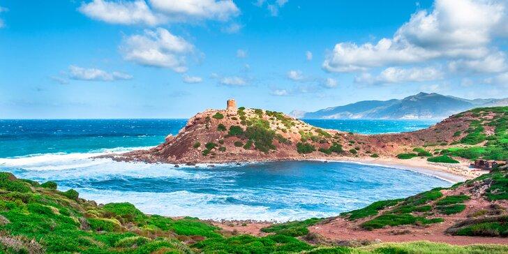 Za krásami Sardinie: zájezd s dopravou, průvodcem i ubytováním v bungalovu