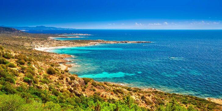 Za krásami Korsiky: 7 nocí, doprava, průvodce, výlety i nicnedělání na pláži