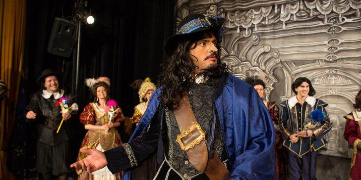 Vstupenka na muzikál L'. Feldeka a O. Brzobohatého: Cyrano