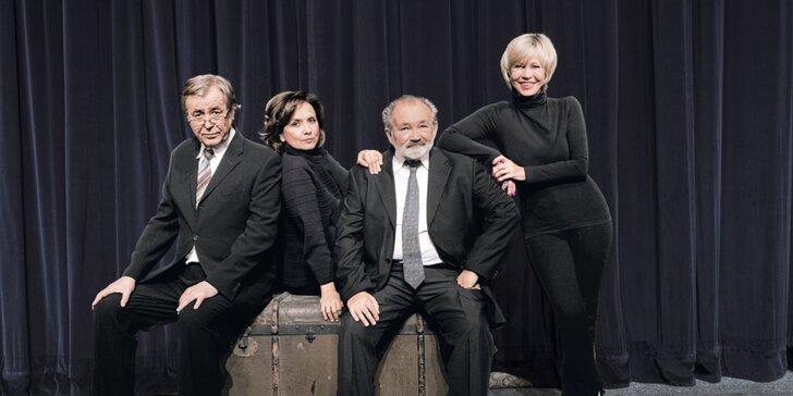 Vstupenka na divadelní představení Kvartet v divadle Bez zábradlí