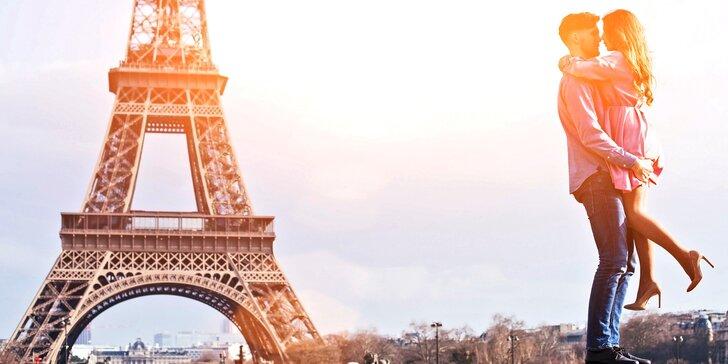 Valentýnský výlet do Paříže: Eiffelova věž, Louvre i Notre Dame