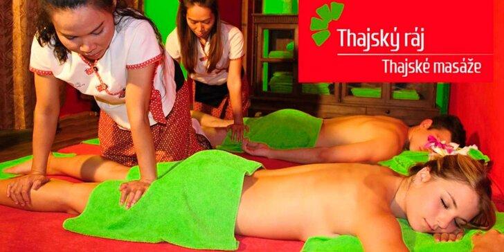 Relaxace pro páry v Thajském ráji: masáž, Garra Rufa a osvěžující nápoj