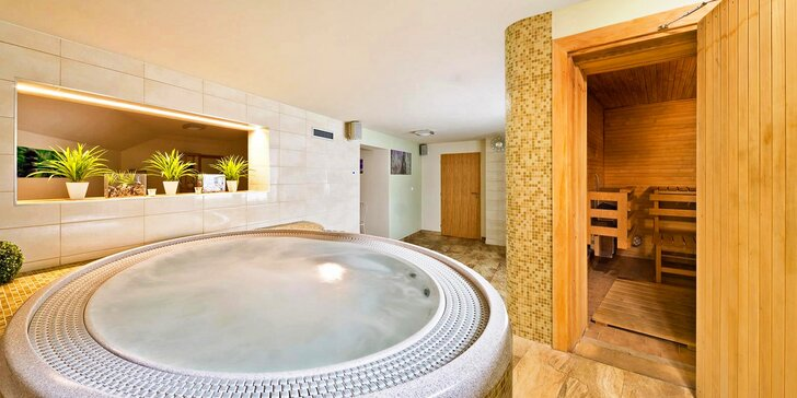 Wellness hýčkání na Moravě: třídenní pobyt s masáží, saunou a polopenzí
