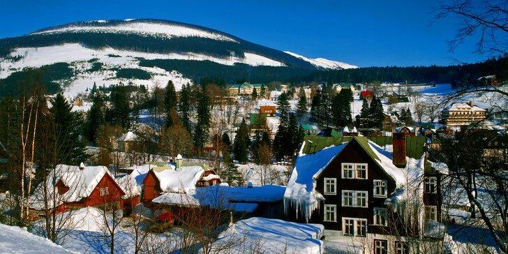 Ve dvou do hor: podzimní nebo zimní pobyt v rodinném penzionu u Vrchlabí