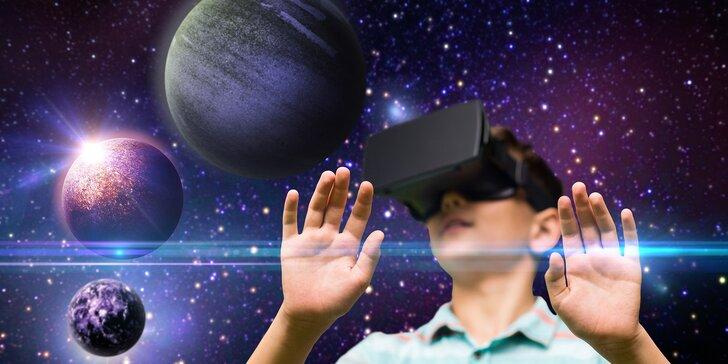 Virtuální realita s HTC VIVE v Plzni: 60 nebo 120 minut hry