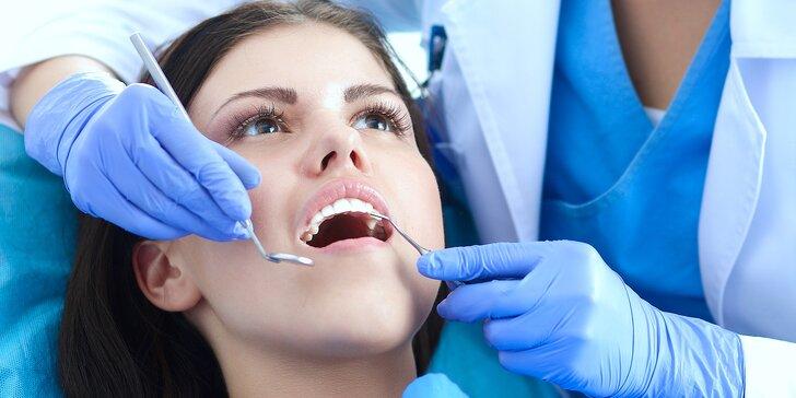 Důkladná péče o váš chrup: dentální hygiena a případně i ordinační bělení