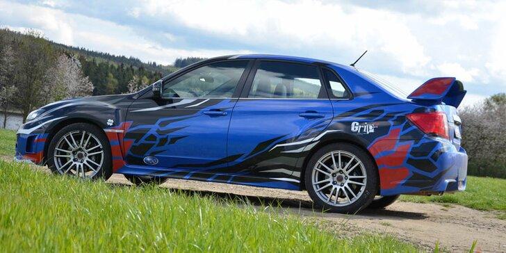 V kůži závodníka: Rallye challenge v Subaru Impreza WRX STI