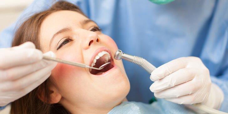 Pečlivá dentální hygiena včetně AirFlow a fluoridace pro dospělé