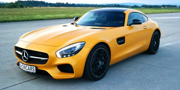 Mercedes Benz AMG GTS V8 BiTurbo: 20 minut jízdy i včetně paliva