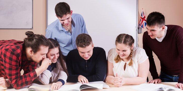 Procvičte si jazyk: kurz na zvládnutí základní anglické konverzace pro 1 osobu