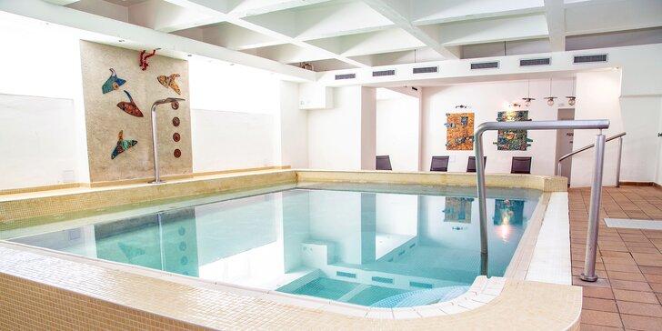 Báječná dovolená v Klatovech: polopenze a neomezený vstup do wellness