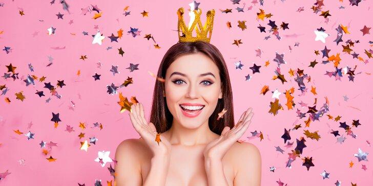Na jeden den princeznou: proměna s vizážistkou, make-up + fotky