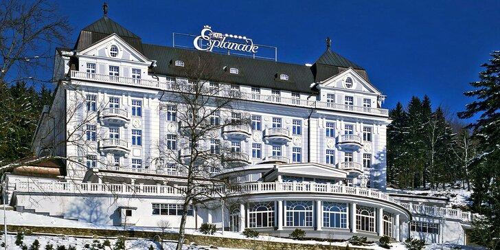 Vítejte ve světě luxusu – v Hotelu Esplanade Spa & Golf Resort.