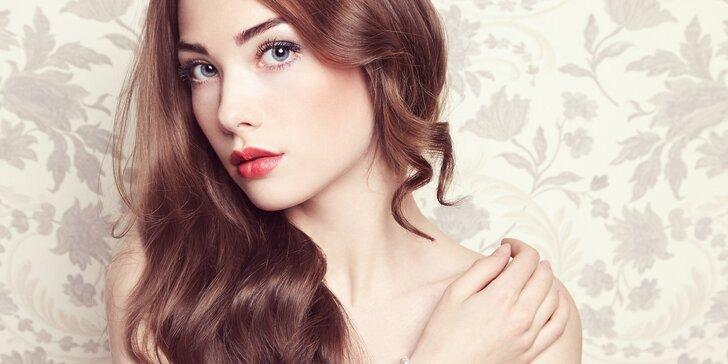 Kosmetické ošetření pleti včetně úpravy obočí a depilace horního rtu