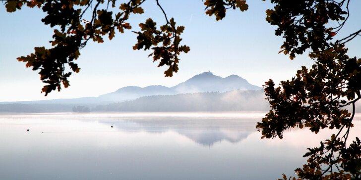 3denní pobyt u Máchova jezera: apartmán až pro 4 osoby, výlety i sauna