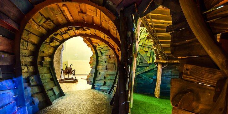 Galerie hrou: interaktivní výstavy plné zábavy pro 2 dospělé a až 3 děti
