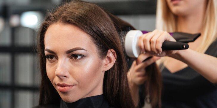 Perfektní střih, foukaná a styling pro všechny délky vlasů