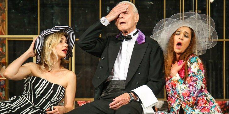 2 vstupenky na vybraná představení Divadla Radka Brzobohatého