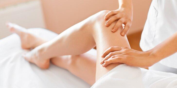 Manuální lymfatická masáž nebo reflexní masáž chodidel