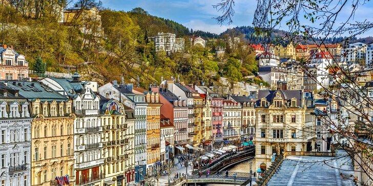 Relaxace v Karlových Varech: hotel přímo u kolonády, wellness a polopenze