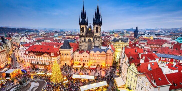 Předvánoční výlet do Prahy: 4* hotel jen 10 minut od Václavského náměstí