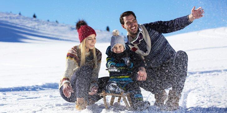 Rodinný pobyt s wellness a slevami na sportovní i adrenalinové aktivity