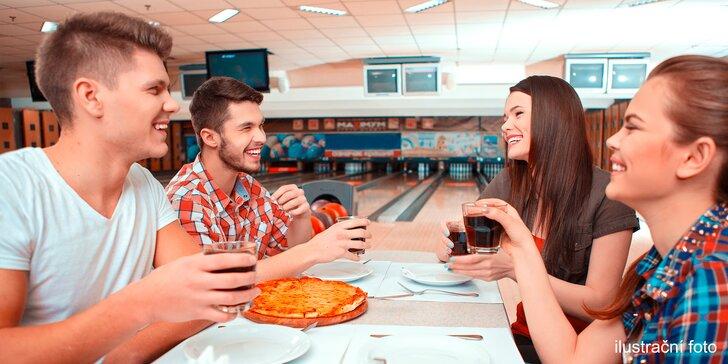 Zábava pro partu: Bowling či laserová střelnice s možností pizzy až pro 8 osob