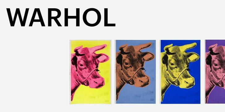 2 vstupenky na výstavu Warhol/Warhola: grafiky, časopisy i Warholův příběh
