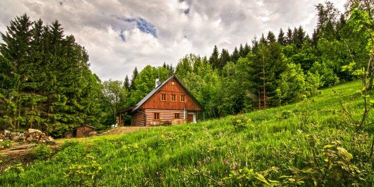 4denní pohádkový pobyt s partou: roubenka, gril, koupací sud, sauna i výlety