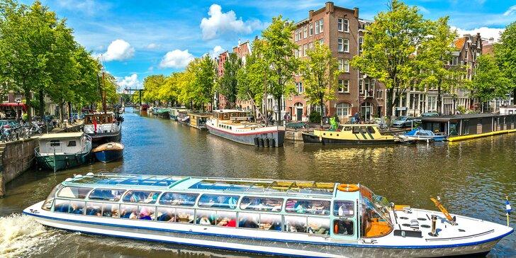 Amsterdam, degustace sýrů na tradiční farmě a přístavní město Volendam
