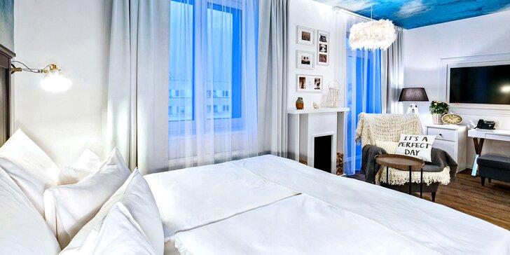 Noc v designovém pokoji 4* Grand Hotelu Imperial s degustační večeří